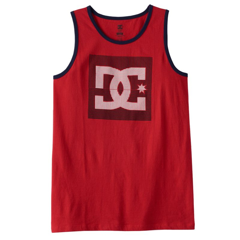 Boys 8-20 DC Shoe Co Offshot Tank Top, Boy's, Size: 14-16, Red