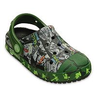 Crocs Bump It Teenage Mutant Ninja Turtles Kids' Clogs