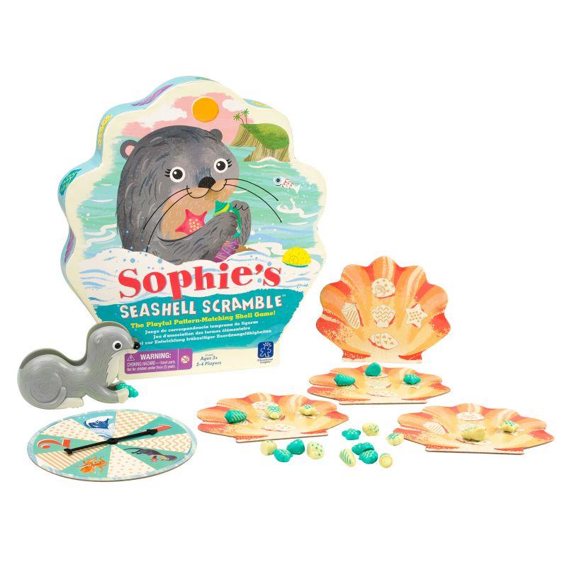 Educational Insights Sophie's Seashell Scramble Game, Multicolor thumbnail