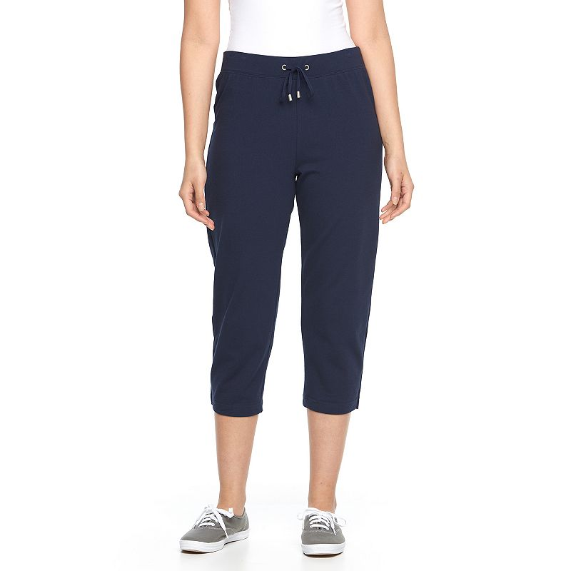 Women's Croft & Barrow® Pull-On Knit Capris
