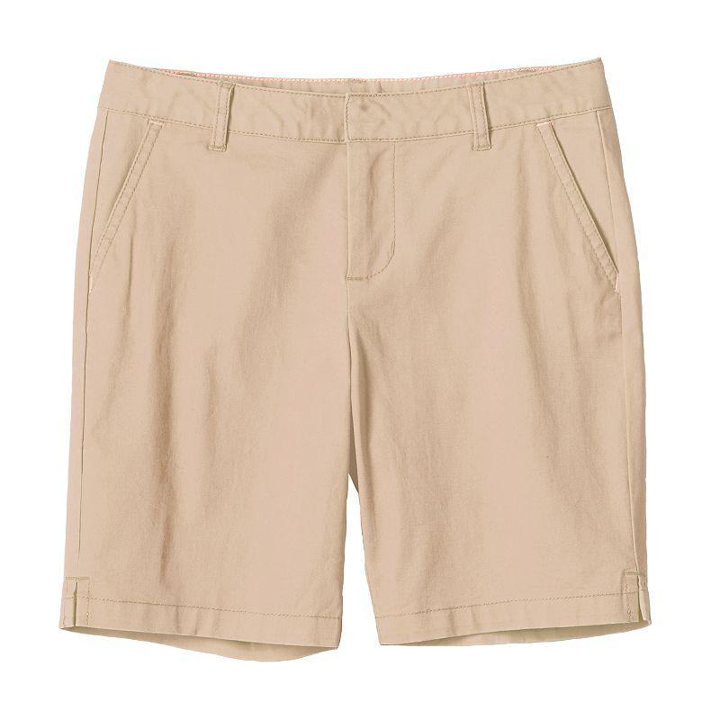 Girls 7-16 & Plus Size SO® Slash Pocket Bermuda Shorts