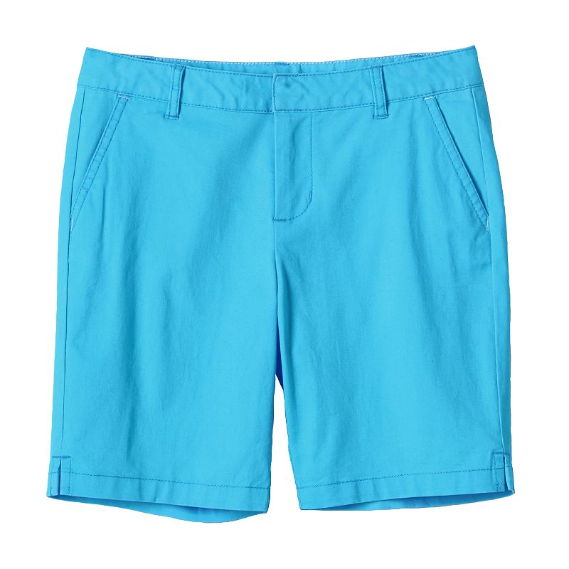 Girls 7-16 & Plus Size SO® Slash Pocket Bermuda Shorts