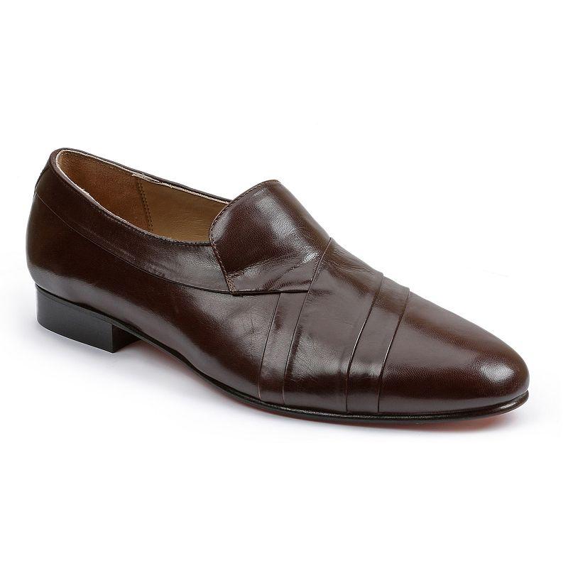 Giorgio Brutini Men's Pleated Leather Dress Shoes