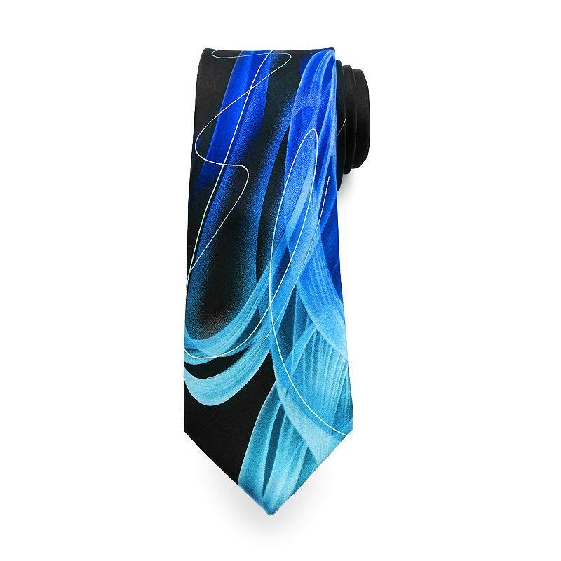 Men's Jerry Garcia Patterned Lines Tie