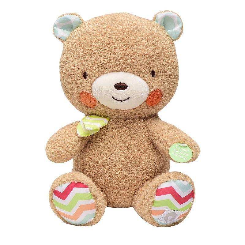 Boppy Plush Wind-Up Musical Bear