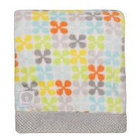 Boppy Velour-Trim Reversible Blanket
