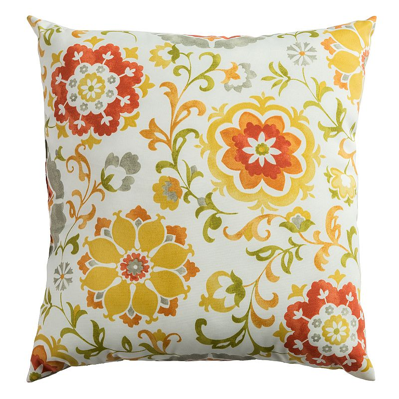 Kohls Yellow Throw Pillows : Yellow 22x22 Throw Pillow Kohl s