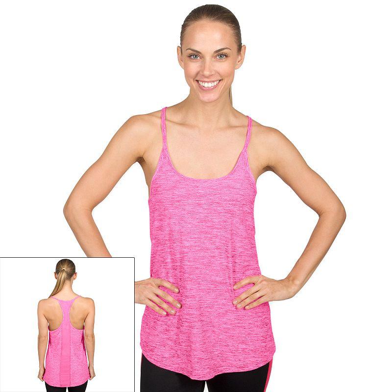 Women's Jockey Sport Illusion Racerback Yoga Tank