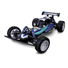 KidzTech 1:10 Remote Control Blue Jet Panther Race Car by