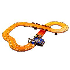 Hot Wheels Battery Operated 12.4-ft. Slot Race Track by