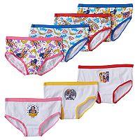 Girls 4-8 DC Super Hero Girls 7-pk. Hipster Panties