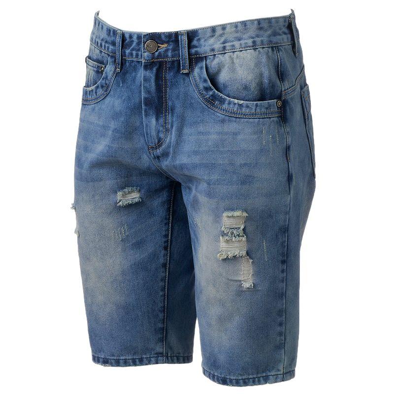 Men's XRAY Distressed Denim Shorts