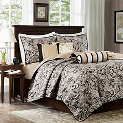 Madison Park Wellington 6-piece Quilted Coverlet Set by