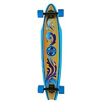 Jersey Boards Blue Wave Cutaway Longboard