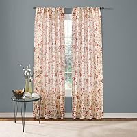 Custom Home Jacobean Floral Curtain