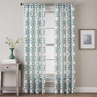 CHF Lotus Harmony Print Curtain