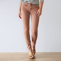 Women's SONOMA Goods for Life™ Sateen Skinny Pants