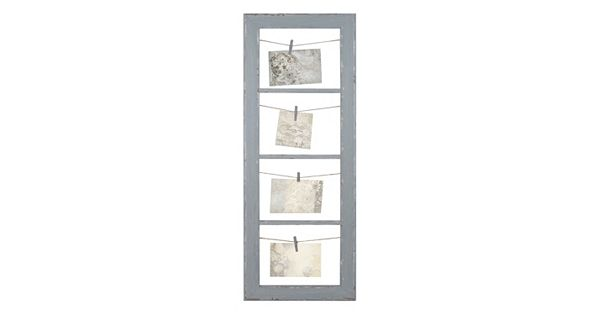 Belle Maison String And Clip 4 Tier Collage Frame