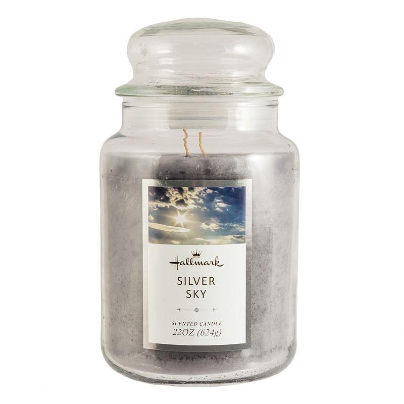 Hallmark Silver Sky 22-oz. Jar Candle