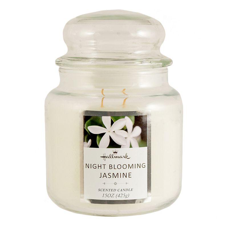 Hallmark Night Blooming Jasmine 15-oz. Jar Candle