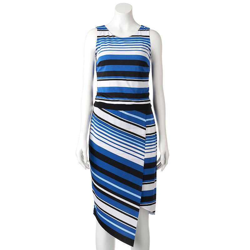 Women's MSK Asymmetrical Blouson Dress