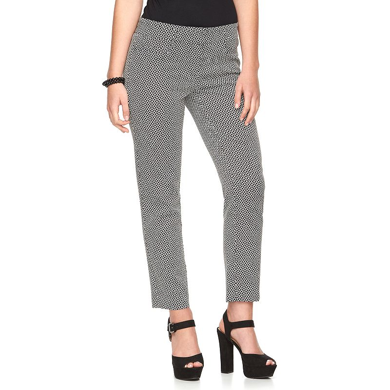 Candie's® Audrey Juniors' Ankle Suiting Pants