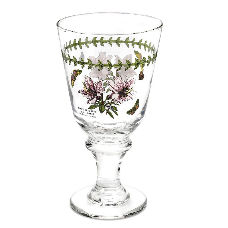 Portmeirion Botanic Garden 4-pc. All-Purpose Wine Glass Set
