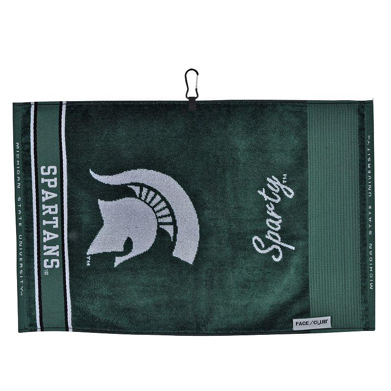 Team Effort Michigan State Spartans Jacquard Towel