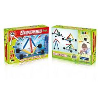 Supermag Maxi 35-pc. Wheels Magnetic Building Set