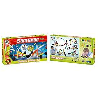 Supermag Maxi 102-pc. Wheels Magnetic Building Set