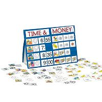 LAURI Time & Money Tabletop Pocket Chart
