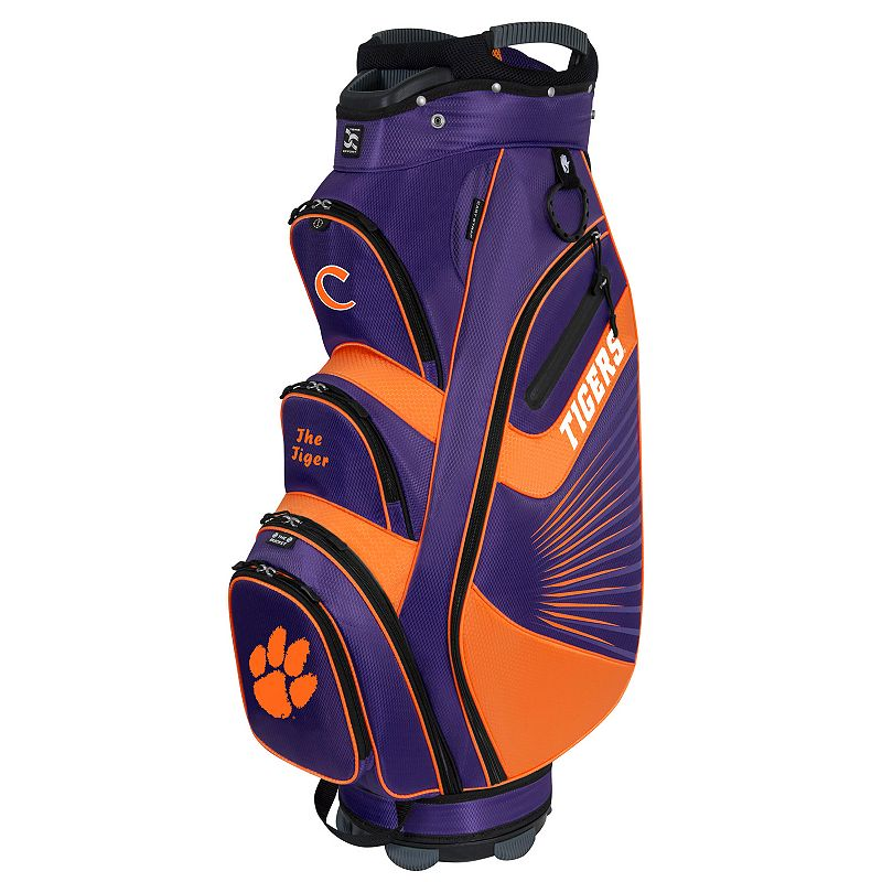 Team Effort Clemson Tigers The Bucket II Cooler Cart Golf Bag, Multi/None