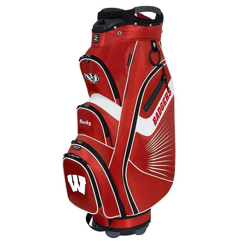 Team Effort Wisconsin Badgers The Bucket II Cooler Cart Golf Bag