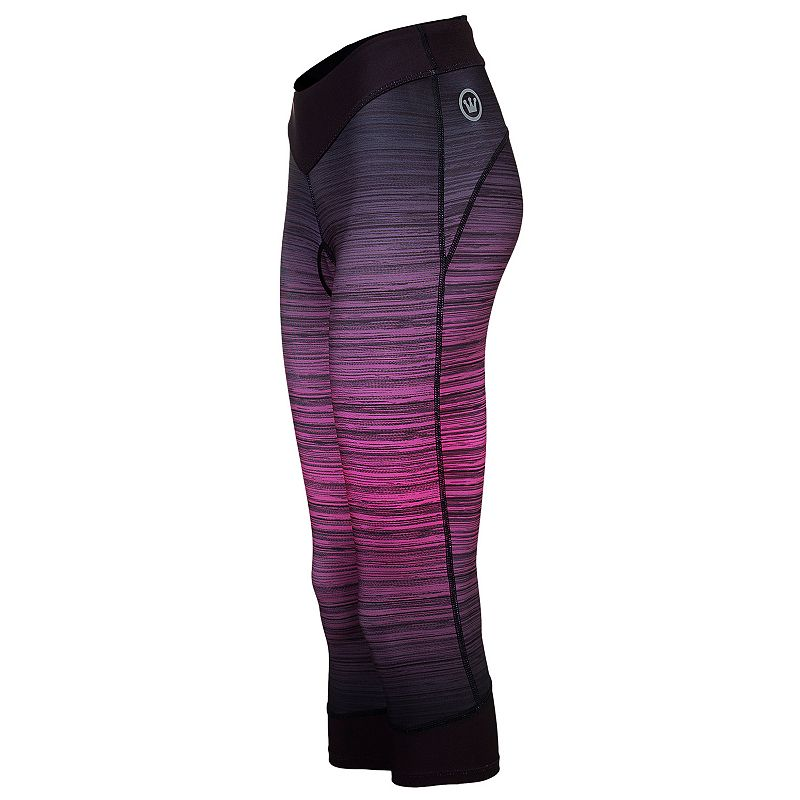 Women's Canari Heather GEL Capri Cycling Tights