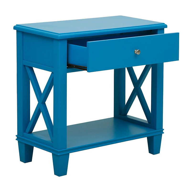 Pulaski X-Frame End Table