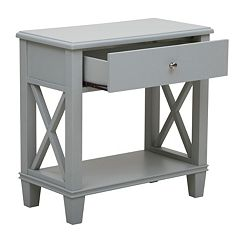 Pulaski X-Frame End Table by