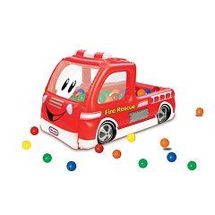 Little Tikes Fire Truck Play Center Ball Pit