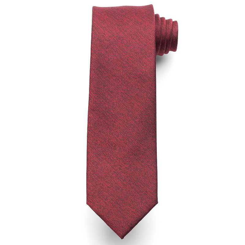 Men's Van Heusen Heathered Solid Skinny Tie