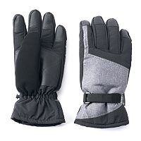 Men's Tek Gear® Core Colorblock WarmTek Ski Gloves
