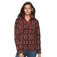 Women's Woolrich Trail Blazing Tribal Fleece Pullover