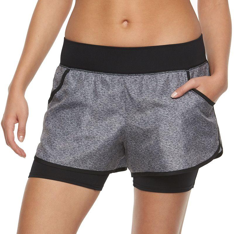 Women's Tek Gear® Layered Running Shorts