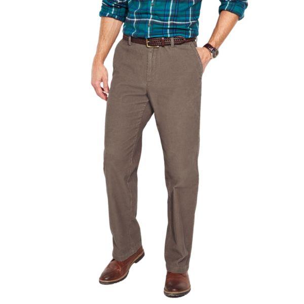 Big & Tall Croft & Barrow® Flat-Front Corduroy Pants