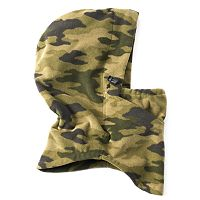 Men's Tek Gear® 4-in-1 HeatTek Camo Microfleece Hood