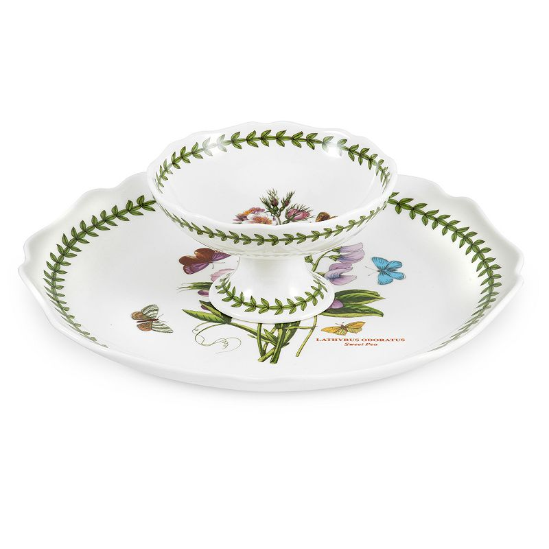 Portmeirion Botanic Garden 2-pc. Chip & Dip Set