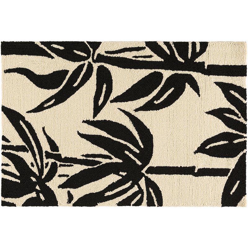 Black water resistant rug kohl 39 s for Water resistant outdoor rug
