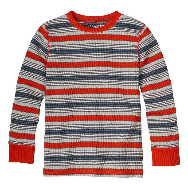 Boys 4-7x Jumping Beans® Orange Stripe Thermal Tee