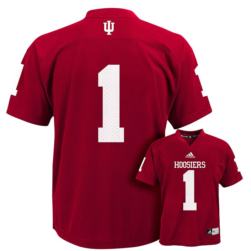 Boys 4-7 adidas Indiana Hoosiers Replica Football Jersey