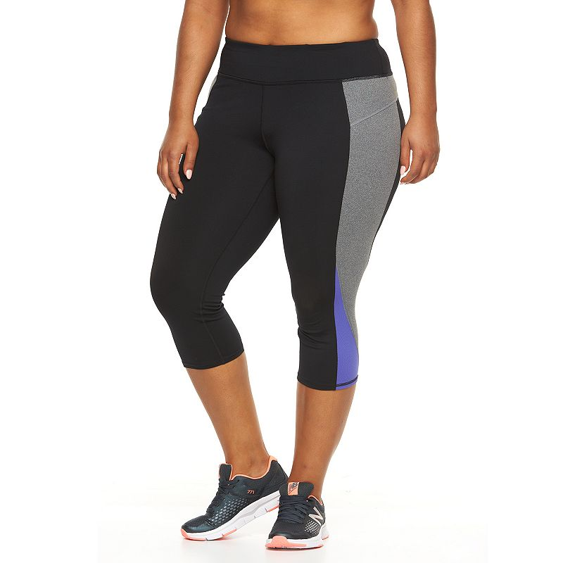 Plus Size Tek Gear® Performance Capri Leggings