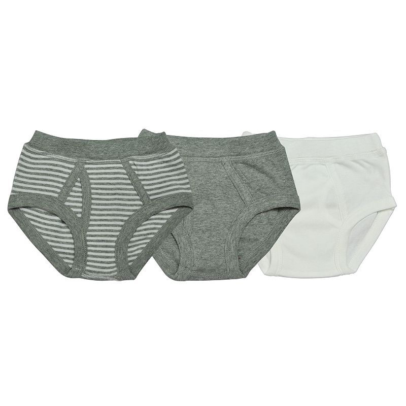 Boys 2-7 Burt's Bees Baby 3-pk. Neutral Organic Briefs