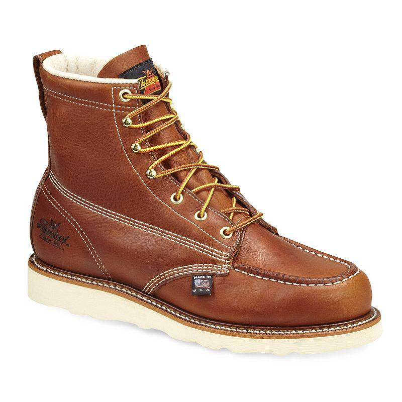 Thorogood American Heritage Men's Moc-Toe Work Boots